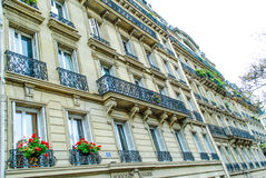 French street in Paris Stock Photo