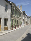 French street in summer Royalty Free Stock Image