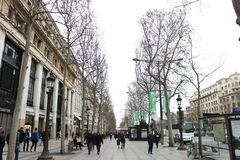 French street views Royalty Free Stock Photo