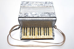 French style accordion Stock Photo