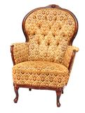 French style armchair. French Louis-philipp's style armchair isolated on white background Royalty Free Stock Photography