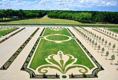 French-style Gardens Royalty Free Stock Photo