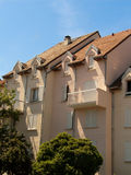 French style houses Royalty Free Stock Images