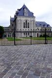 French style mansion architecture Royalty Free Stock Photo