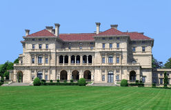 French Style Palatial Mansion Stock Images