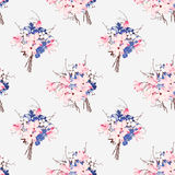 French style seamless vector pattern Royalty Free Stock Photos