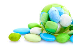 French sugared almonds Royalty Free Stock Image