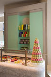 French sweets. Macarons. Taste it Royalty Free Stock Photography