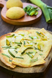 French Tarte Flambee Stock Image