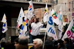 French Teachers Strike Royalty Free Stock Photography