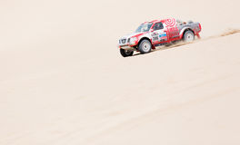 French team Dakar 2013 Royalty Free Stock Photos