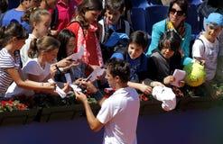 French tennis player Edouard Roger-Vasselin Royalty Free Stock Photos