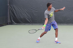 French Tennis Professional Gael Monfils at the Miami Open Royalty Free Stock Photos