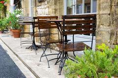 French terrace stock photos
