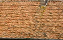 French Tile roof Royalty Free Stock Image