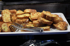 French toast for breakfast Royalty Free Stock Photography