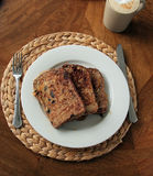 French toast for breakfast Stock Image