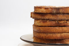 French toast on the plate Stock Photography