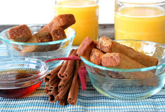 French Toast Sticks Stock Image