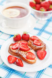 French toasts Stock Photography
