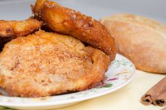 French toasts. Traditional Spanish torrijas stock photography