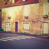 French Town Royalty Free Stock Photo