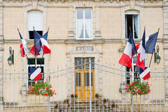 French town hall Royalty Free Stock Photo