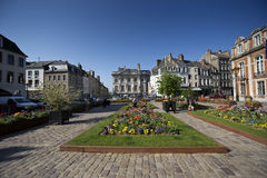 French town square Royalty Free Stock Images