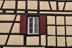 French traditional house window Stock Photo