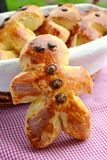 French traditional pastry mannele Royalty Free Stock Images