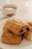 French traditional pastry Stock Photos