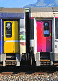 French train carriage Royalty Free Stock Photos