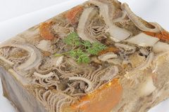 French tripe dish Stock Photos