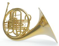 French Trombone Royalty Free Stock Photography