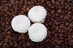 French vanilla meringue cookies Stock Photography