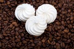 French vanilla meringue cookies Stock Image