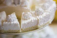 French vanilla meringue cookies. Stock Images