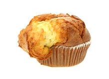 French Vanilla Muffin Stock Photo