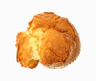 French Vanilla Muffin Overhead View Stock Photos
