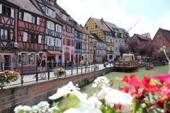 The French Venice Colmar stock images