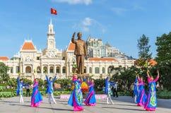 french Vietnam kolonialny budynku Zdjęcia Stock