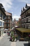 French Village. Colmar Tropicale, which is a replica of a 16th Century French village Stock Images