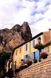 French Village. Just another day in the french village of Moustier Ste Marie Royalty Free Stock Images