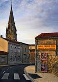 French village. A village near Bordeaux (France Stock Images