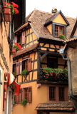 French village, Alsace, France Royalty Free Stock Photo
