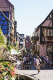 French village, Alsace, France Royalty Free Stock Photography