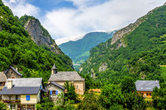 The French village of Borce. Stock Images