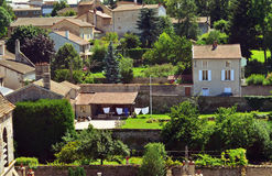 French village in burgundy Royalty Free Stock Images