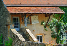 French village in burgundy Stock Photos