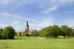 French village in the Charente Royalty Free Stock Image